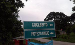 coclesito-hinweisschild