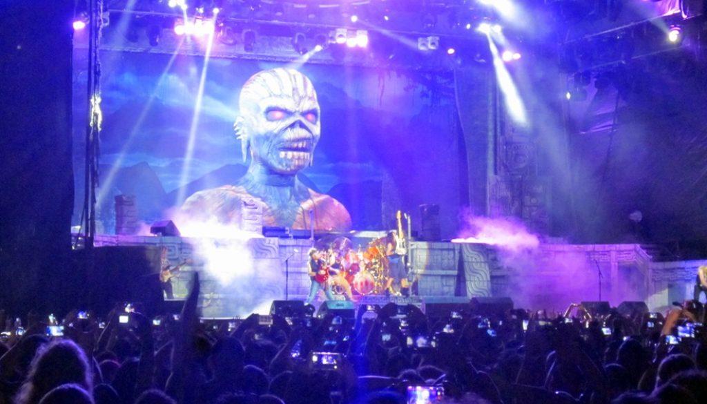 Iron Maiden in Costa Rica – März 2016