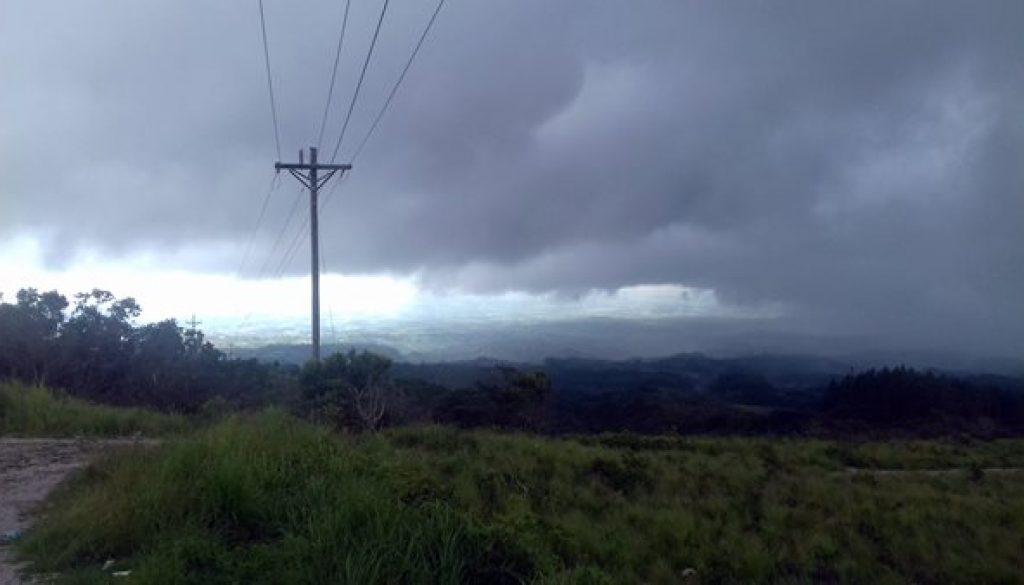 Regenzeit in Panama