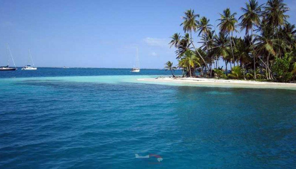 Die San Blas Inseln in Panama