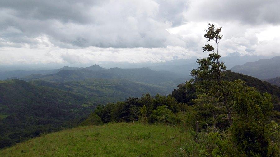Das Hochland von Chiriquí zwischen David und Bocas del Toro, Panama